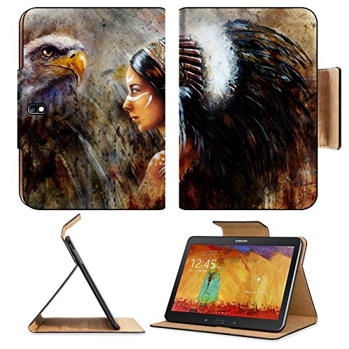 samsung-galaxy-tab-pro-101-tablet-flip-case-beautiful-mystic-painting-of-a-young-indian-woman-wearin