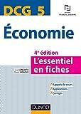 DCG 5 Economie - 4e éd. - L'essentiel en fiches