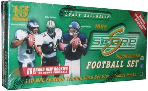 1999 Score Football Supplemental HOBBY Set – 10C by SCORE kaufen