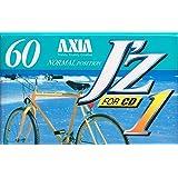 AXIA オーディオカセットテープ J'z1 ノーマルポジション 60分 ショートリーダーテープ採用 NORMAL POSITION JZ1C 60