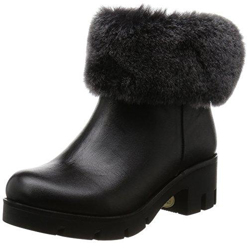 [ヨースケ] ブーツ  7100117 BL ブラック 23