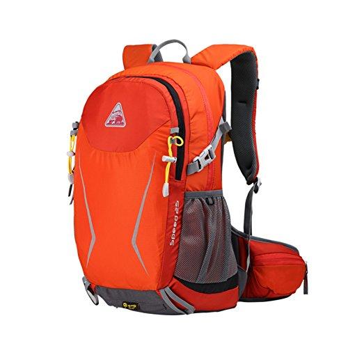 sac à bandoulière extérieur / sac multifonctions équitation / randonnée sport sac à dos / sac de Voyage de loisirs-rouge 25L