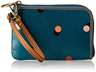 Fossil Keyper Wallet,Peacock Blue,One…