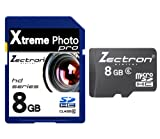 NEW 8GB SD SDHC Micro class 4 MEMORY CARD FOR Panasonic Lumix DMC-FZ45 CAMERA