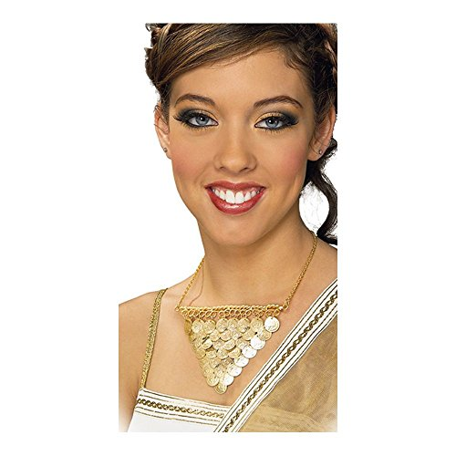 Rubie's Costume Co Gold Coins Necklace Costume