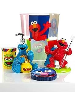 "Sesame street ""Patchwork"" Toothbrush Holder"