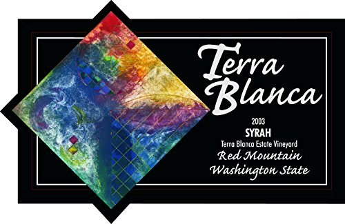 2003 Terra Blanca Estate Red Mountain Syrah 750 Ml