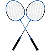 Guru Track BS05 Pack Of Two Racket Badminton Set, Size 27 Inch With Cover
