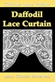Daffodil Lace Curtain Filet Crochet Pattern