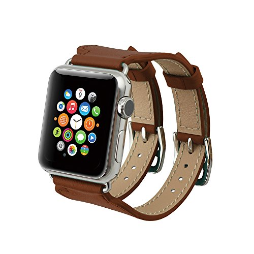 apple-watch-correa-series-2-seriessuminr-38mm-double-buckle-cuff-correa-de-piel-de-manzana-reloj-iwa