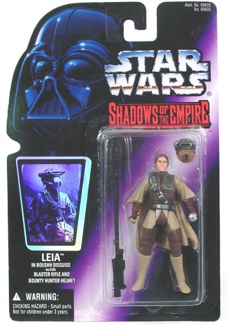 Star Wars Shadows Of The Empire Leia In Boushh Disguise Action Figure - 1