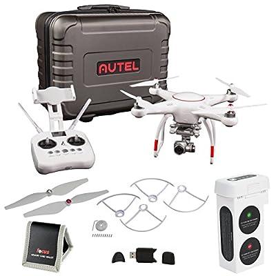 Autel Robotics X-Star Premium Drone w/ 4K Camera & Case (White) w/ Accessory Bundle by Autel Robotics