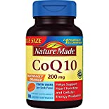 Nature Made CoQ10, 200 mg, Liquid Softgels, 80 softgels