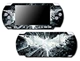 Batman Begins Dark Knight Rises Arkham City Video Game Vinyl Decal Skin Sticker Cover for Sony PSP Playstation Portable Slim 3000 Series System