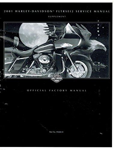2001 Harley Davidson Fltrsei2 Service Repair Shop Manual Supplement