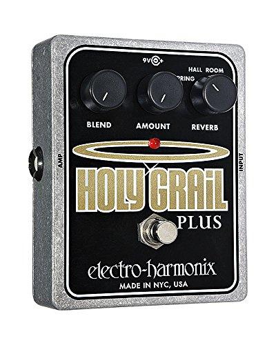 Electro Harmonix Holy Grail plus Pedale per Chittara Elettrica, Argento