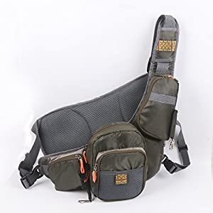 Share facebook twitter pinterest 1 new from 49 99 for Fly fishing sling pack