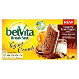 Belvita Breakfast Biscuits Crunch Cocoa and Live Yogurt (Pack of 40)