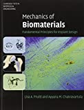img - for Mechanics of Biomaterials: Fundamental Principles for Implant Design (Cambridge Texts in Biomedical Engineering) book / textbook / text book