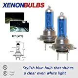 H7 55w Xenon Dipped Beam Headlight Bulbs FIAT ULYSSE 2.0S, EL, 2.0JTD 2002 On