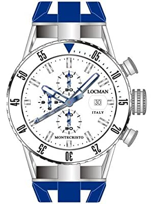 Locman Montecristo Professional Divers' Chronograph by Locman Italy