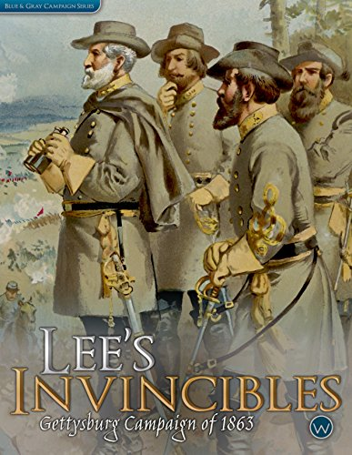 WOG: Lee's Invincibles, Gettysburg Campaign of 1863, Boardgame (Gettysburg Game compare prices)