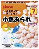 ピジョン ベビーおやつ 元気アップカルシウム 小魚あられ 2袋入×12個