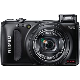 Fujifilm FinePix F500EXR 16 MP CMOS Digital Camera with Fujinon 15x Super Wide Angle Zoom Lens
