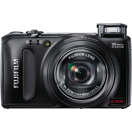 Review Of Fujifilm FinePix F500EXR 16 MP CMOS Digital Camera with Fujinon 15x Super Wide Angle Zoom ...