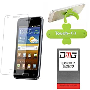 DMG Pack of 10 Tempered Glass for Sony Xperia Z Ultra + Touch U Mobile Stand