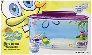 Penn Plax SpongeBob's Large Betta Aquarium Tank