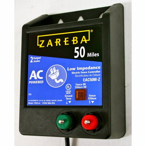 Zareba Eac50M-Z Ac-Powered Low-Impedence 50-Mile-Range Charger