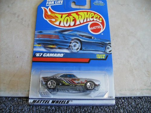 Hot Wheels 67 Camaro #1014 1998 5spoke - 1