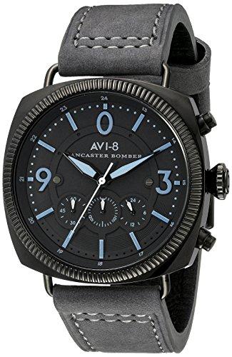 AVI-8 Men's AV-4022-08 Lancaster Bomber Analog Display Japanese Quartz Grey Watch