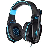 EACH G4000 Stereo 3.5 Mm Gaming Headphone Headset Headband With Mic Volume Control For PC