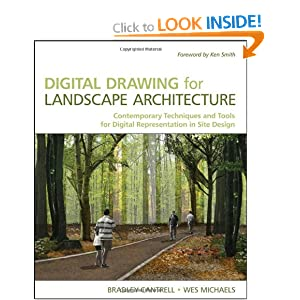 Digital drawing for landscape architecture contemporary for Best garden design books uk