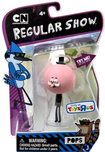 Regular Show 3 Inch Action Figure Pops [with Moving Mustache Action]