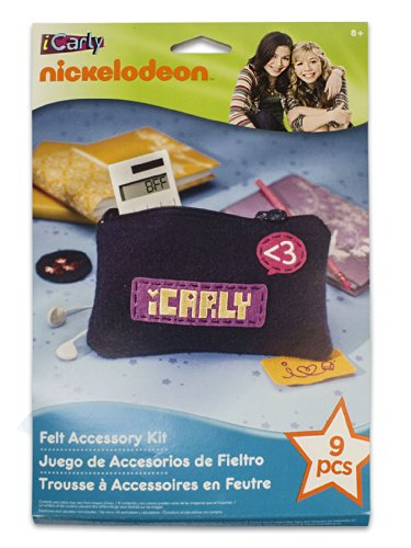 EK Success Nickelodeon iCarly Felt Accessory Kit