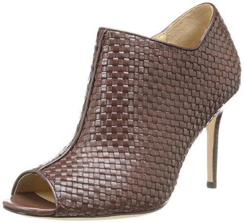 Cole Haan Women's Annabel OT Weave Boot,Chestnut Weave,9 B US