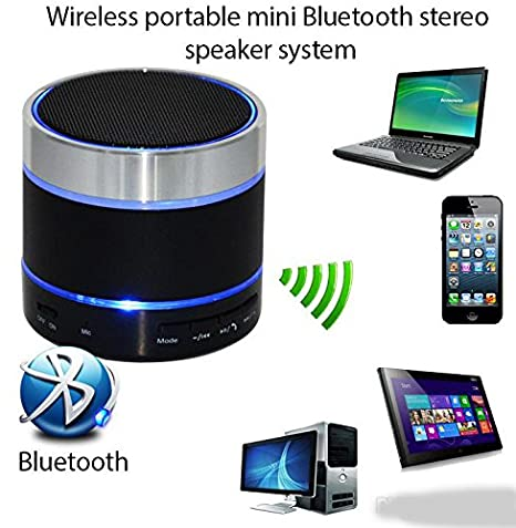 Spice Coolpad 2 Mi 496 COMPATIBLE Mini Bluetooth Wireless Speaker  S10 /Portable Audio Player Play FM Radio, audio from TF card and Auxiliary input    available at Amazon for Rs.349