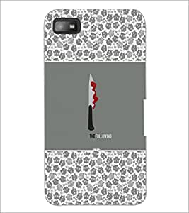 PrintDhaba Quote D-3167 Back Case Cover for BLACKBERRY Z10 (Multi-Coloured)