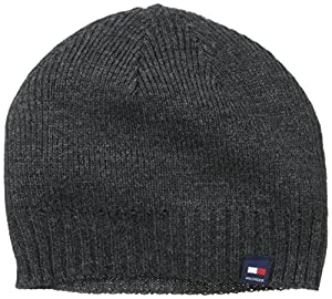 Tommy Hilfiger Men's Solid Hat, Charcoal, One Size
