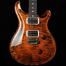 PRS Custom 24 - Orange Tiger - Pattern Thin Neck - 2013 #204273