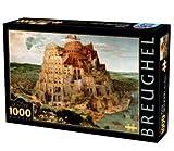 D-Toys - BREUGHEL Jigsaw Puzzle 1000 - Pieter Breughel the Elder: The Tower of Babel - DT66947-BR-05