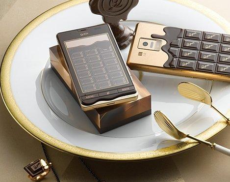 新品 SH-04D Q-POT PHONE Bitter Choco 白ロム 携帯
