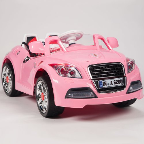 Ride On Car 12V Audi Style Kids Power Wheels W/ Mp3 Remote Control Pink