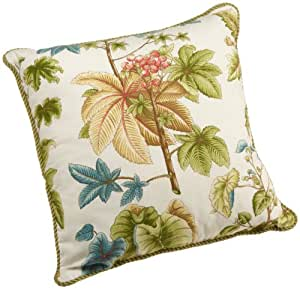 Amazon.com: Rose Tree Caladium 18 by 18 Reversible Decorative Pillow: Home & Kitchen