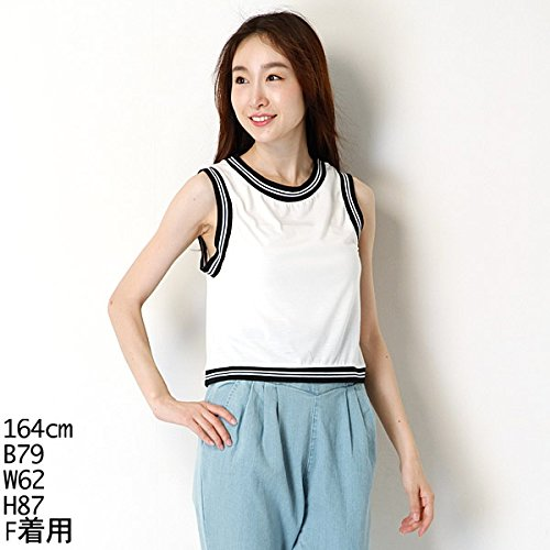 ムルーア(MURUA) Tシャツ(ラインリブT/T)【M00ホワイト/F】
