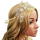 Babeyond-Bling-Silver-Tone-The-Great-Gatsby-Inspired-Leaf-Simulated-Pearl-Headband-Hair-Tiara-White