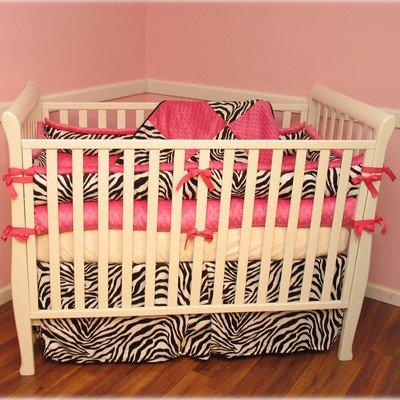 Zebra Hot Pink Bedding front-188529
